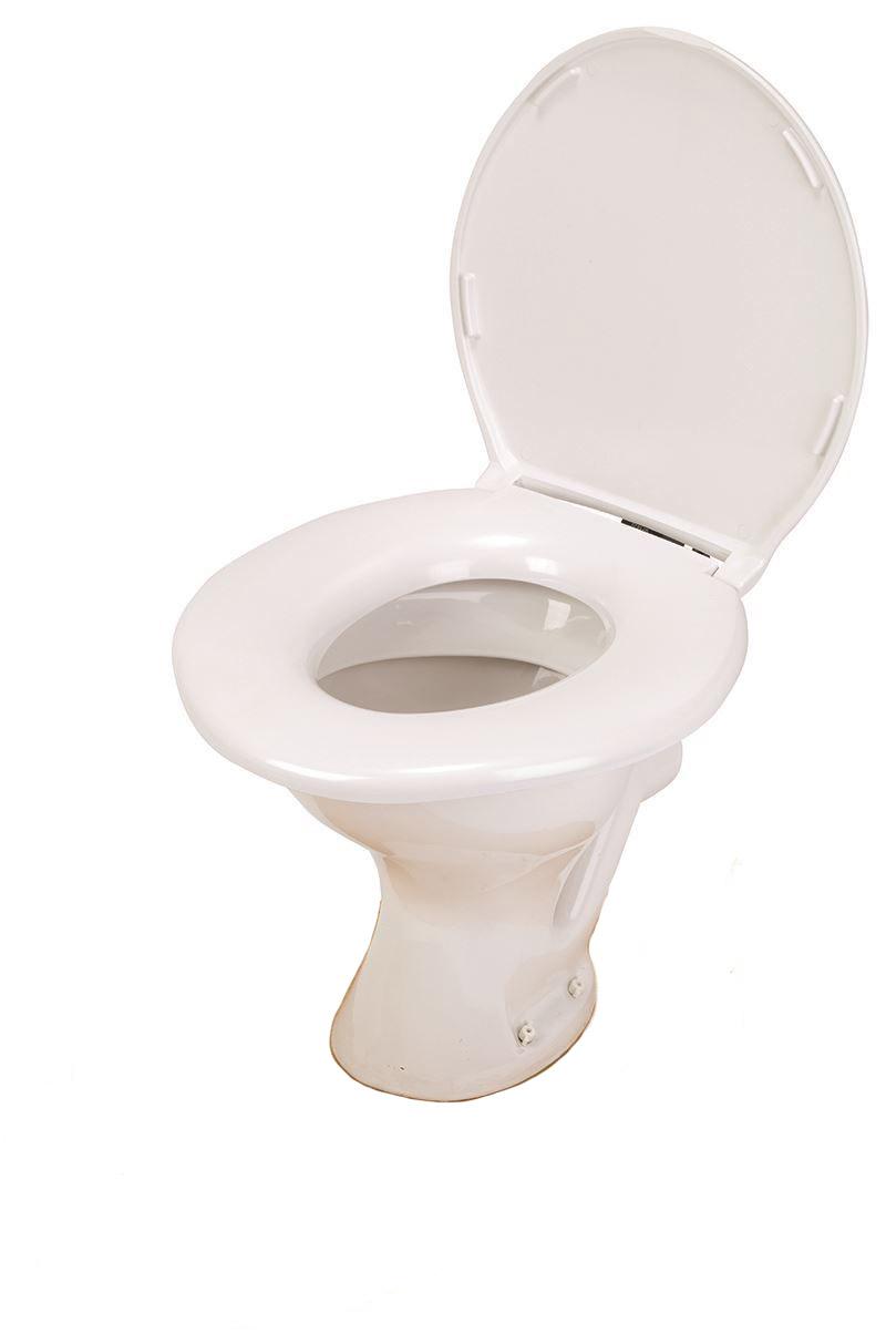 Big John Toilet Seat.Big John Standard Toilet Seat 6 W Closed With Cover 800lbs