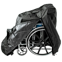 Manual Wheelchair Cover w/Elasticated Drawstring & Quick Release Buckle