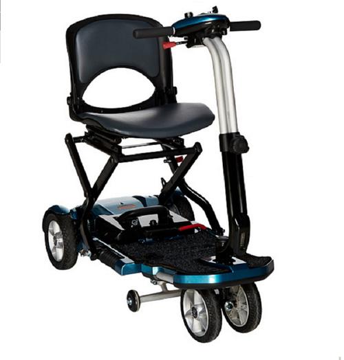 EV Rider TranSport Plus 4-Wheel Folding Mobility Scooter ...