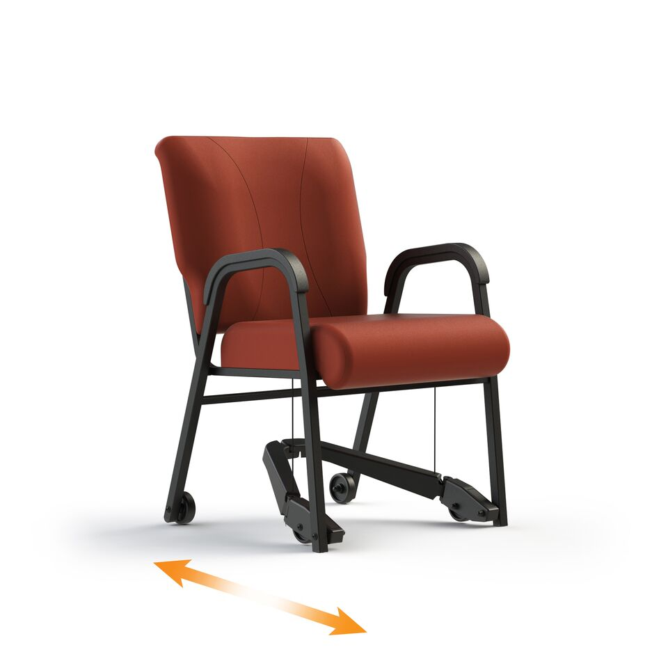 Assistive Chairs with REZ Lever System