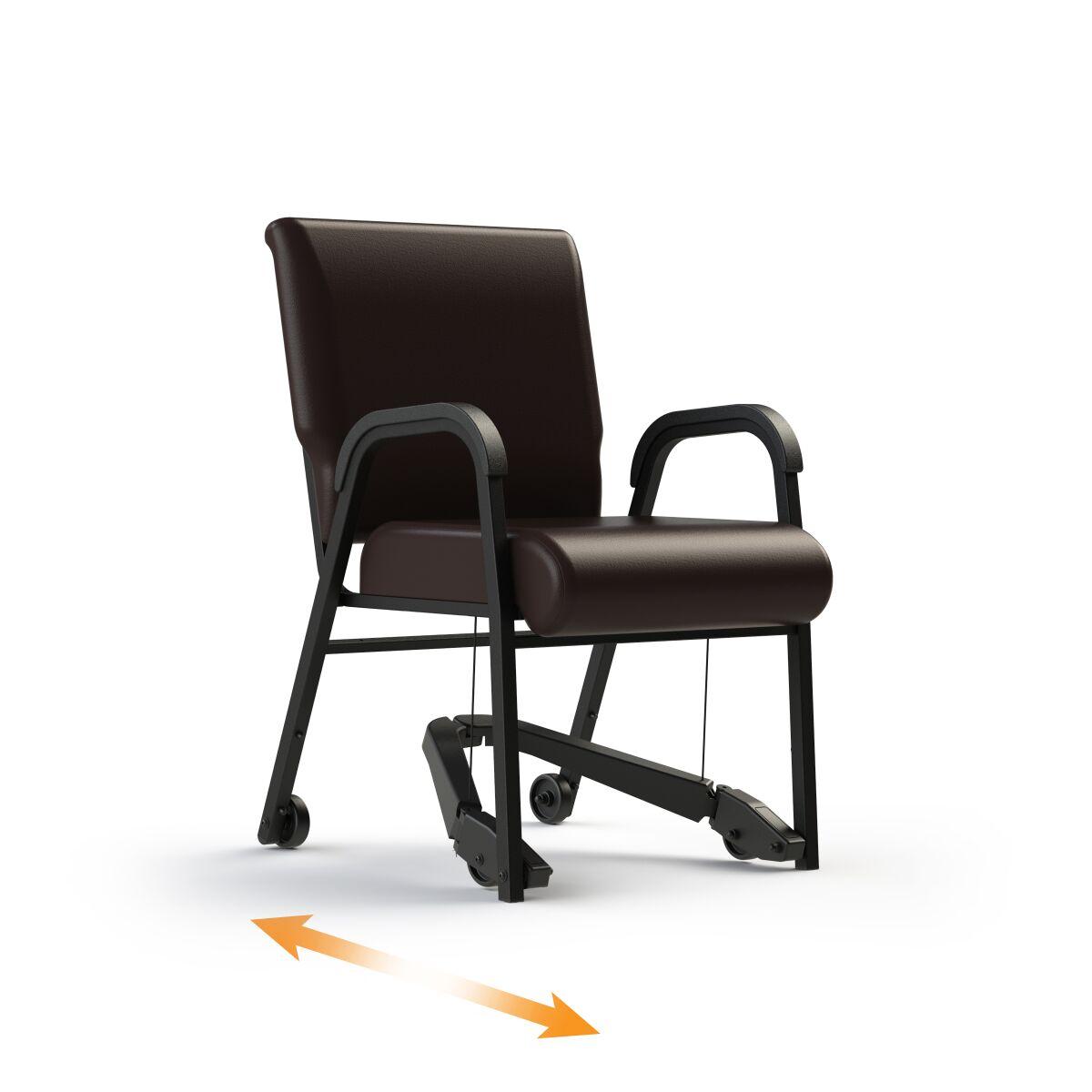 ComforTek Titan Bariatric Mobility Assist Chair w/Casters 33lbs