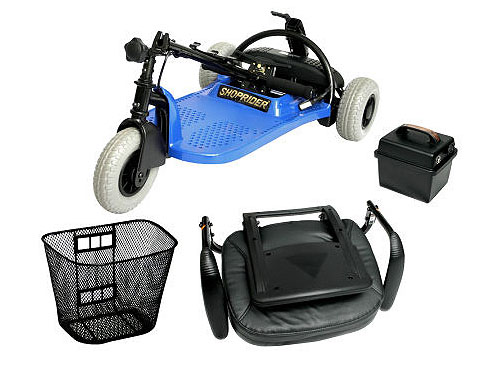 Shoprider Echo 3 Mobility Scooter - Blue