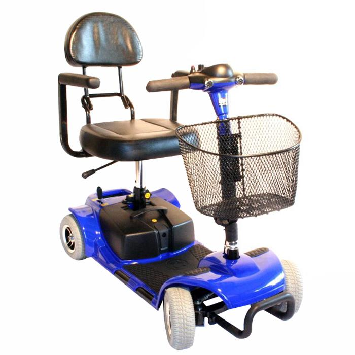 Zipr Roo 4-Wheel Scooter - Blue