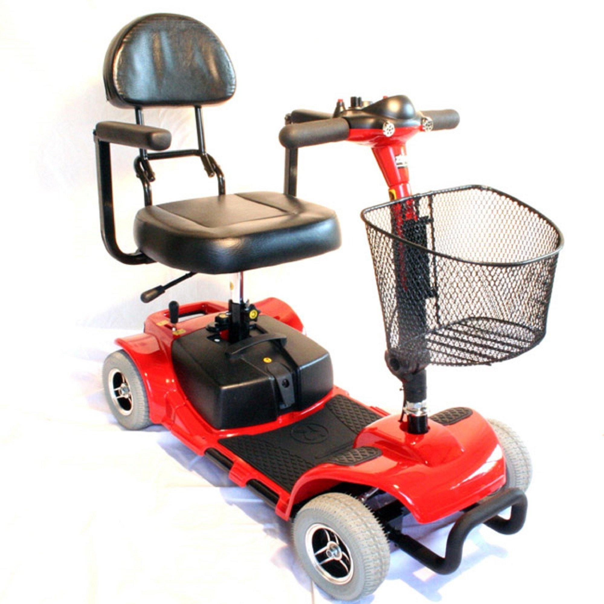 Zip'r Roo 4-Wheel Scooter - Red