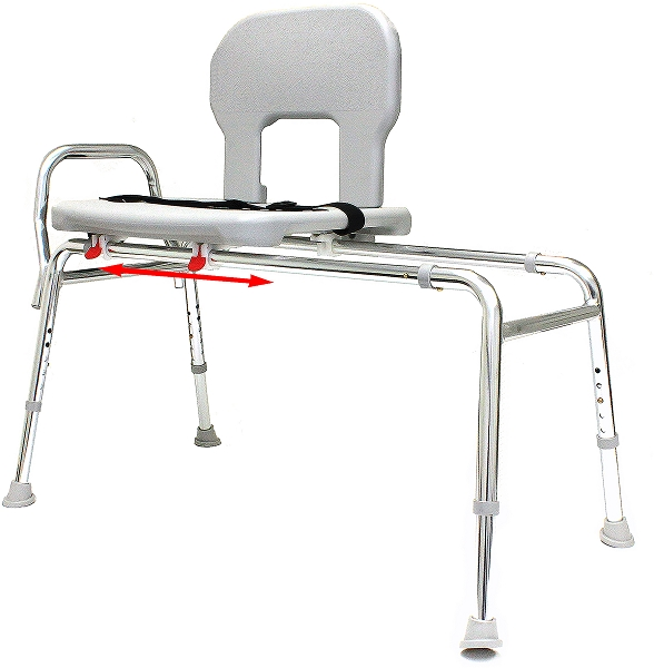 Bariatric Sliding Bath Transfer Bench - 55211 - Regular