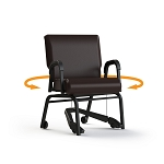 ComforTek Titan Swivel Chair w/REZ Mobility Assist Lever 22