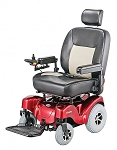 Merits Atlantis P710 Bariatric Powerchair w/Captain's Seat - 600lbs