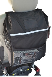 Deluxe Seatback Bag - Fits Mobility Scooters & Wheelchairs
