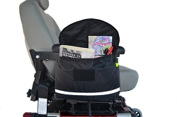 Standard Saddle Armrest Bag for Wheelchairs and Mobility Scooters