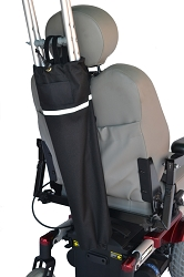 Crutch Holder for Mobility Scooters, Powerchairs & Wheelchairs