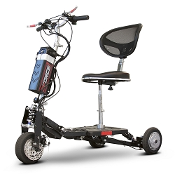 eWheels EFORCE1 Folding Powerful Portable Travel Scooter Airline Friendly EW-07