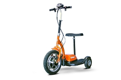 EW-18 Ewheels Stand and Ride Scooter - Orange