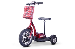 EW-18 Ewheels Stand and Ride Scooter - Red