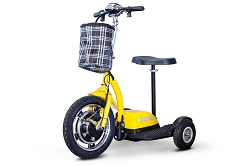 EW-18 Ewheels Stand and Ride Scooter - Yellow