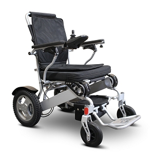 eWheels Folding Power Wheelchair with Storage Bag - EW-M45