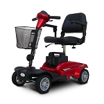 EV Rider MiniRider 4-Wheel Travel Scooter - Red