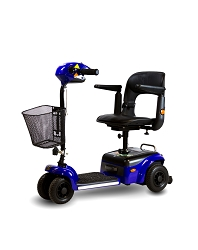 Shoprider Scootier 4-Wheel Portable Mobility Scooter - Blue