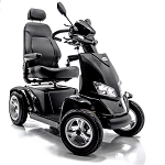 Merits Silverado Extreme Full Suspension 4-Wheel Electric Scooter - 20