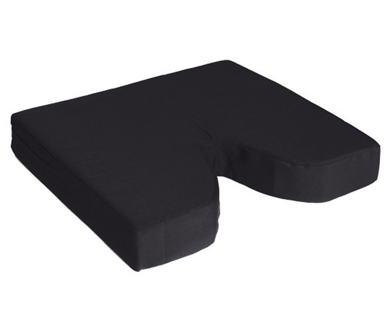 "NOVA Coccyx Memory Gel/Foam Cushion 20"" x 16"" x 3""  with Cutout"